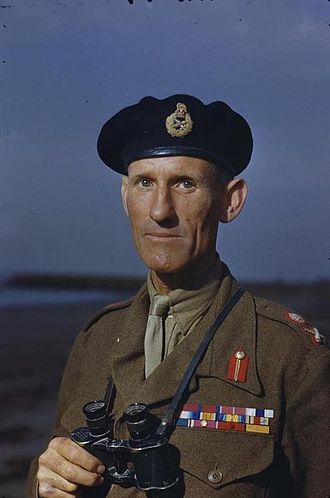 Richard McCreery - McCreery as the Eighth Army commander at TAC Eighth Army HQ, Italy, 1 October 1944.