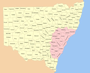 New South Wales cadastral divisions