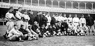 1911 New York Giants season - Team photo