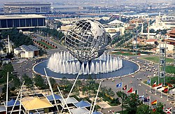 The Unisphere at the 1964 World's Fair
