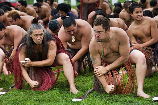 New Zealand - Maori rowing - 8455