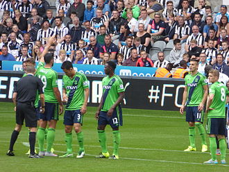 2015–16 Southampton F.C. season - Southampton's first game of the season was a 2–2 draw at Newcastle United.