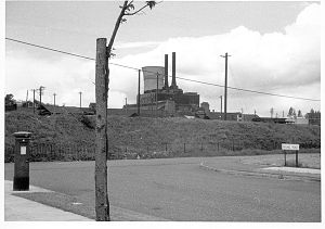 Newton Abbot power station - View of the Power Station taken in 1962