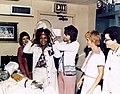 Nichelle Nichols visits female astronauts.jpg