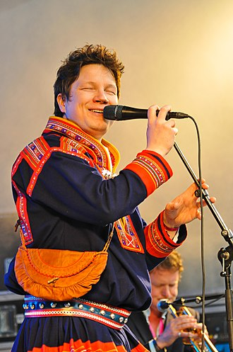 2009 in Norwegian music - Niko Valkeapää at the Riddu Riđđu Festival in Skånland.