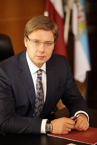 Latvian parliamentary election, 2011 - Image: Nil Ushakov
