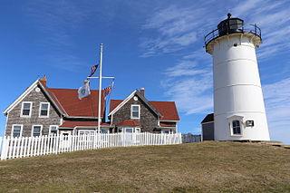Nobska Light lighthouse in Massachusetts, United States