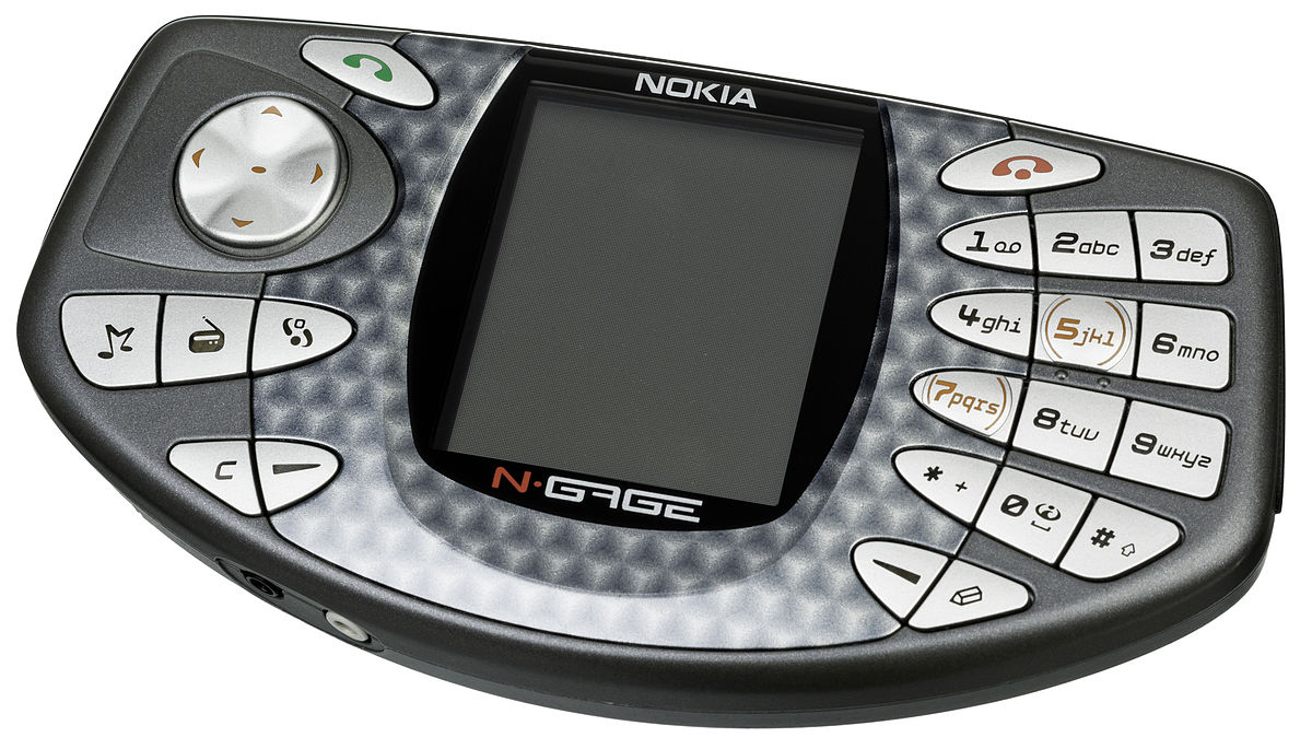 Nokia Cell Phone N Gage Device Wikipedia