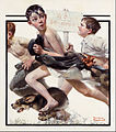 Norman Rockwell - No Swimming - Google Art Project.jpg