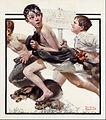 Norman Rockwell - No Swimming - Google Art Project.jpg