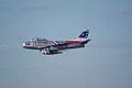 North American F-86F-30-NA Sabre Skyblazers Snodgrass 1st Pass 05 TICO 13March2010 (14412716490).jpg