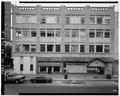 North Broad Street elevation. Camera facing west. - Wallach Building, 88 East State Street, Trenton, Mercer County, NJ HABS NJ,11-TRET,27-2.tif