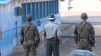 File:North Korean Soldier at the DMZ.webm