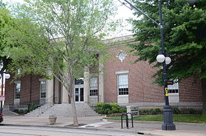 Argenta Branch Library - Image: North Little Rock Post Office