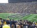 Northwestern vs. Michigan football 2012 02 (Northwestern band).jpg