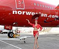 Norwegian Air Shuttle celebrates launch of Gatwick–Las Vegas flight 6.jpg