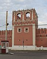 Nothern tower of the western wall of Donskoy Monastery 02.jpg