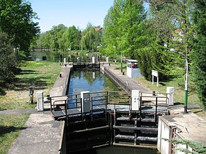 Königs Wusterhausen - Notte canal in Königs Wusterhausen