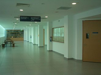 "National University of Singapore Faculty of Law - Inside Block ""B"": the corridors of the law school"