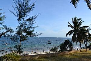 Nyali Beach from the Reef Hotel during high tide in Mombasa, Kenya 44.jpg