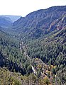 Oak Creek Canyon seen from the overlook vista (4106761245).jpg