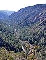 Oak Creek Canyon seen from the overlook vista (4106761245).jpg