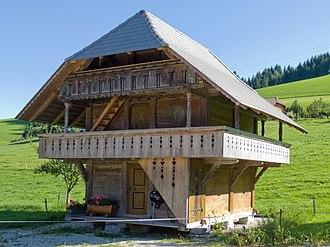 Oberbalm - Image: Oberbalm Horbermatt 114 Speicher