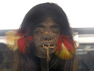 Amazon River - The Jivaro people were famous for their head-hunting raids and shrinking the heads from these raids.