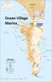Ocean Village Marina locator.png