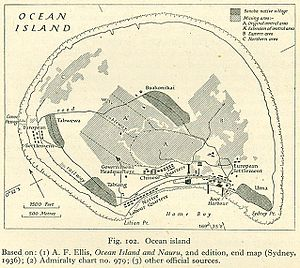Tito v Waddell (No 2) - Image: Ocean island