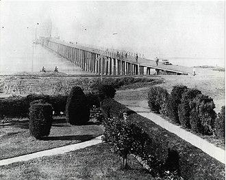 Oceanside Pier - Oceanside Pier in the early 1900s.