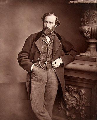 Octave Feuillet - Feuillet taken by Antoine Samuel Adam-Salomon circa 1870s
