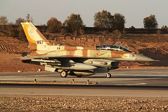 107 Squadron (Israel) - F-16I of the 107th squadron