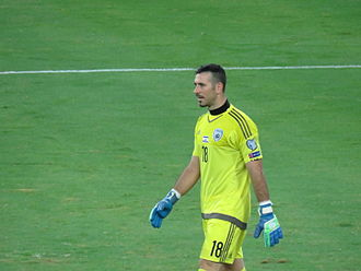 Ofir Marciano - Marciano playing for Israel in 2015