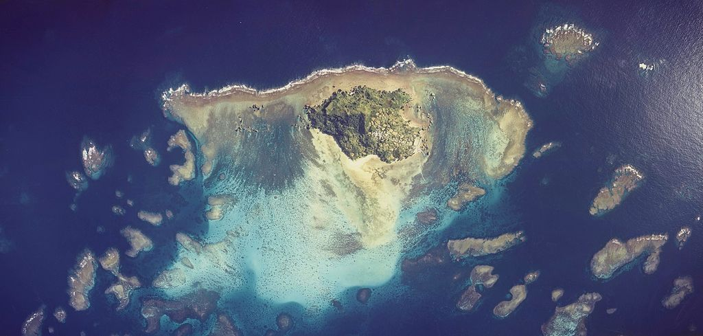 Ogami Island Aerial photograph.1977