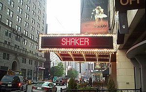 Downtown Cleveland - Playhouse Square's Ohio Theater