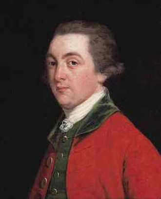 Earl of Upper Ossory - Portrait of John FitzPatrick, 2nd Earl of Upper Ossory (1745–1818) by Thomas Beach (1738-1806).