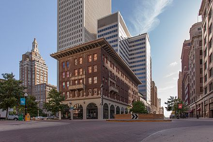 Oil Capital Historic District in Tulsa Oil Capital Historic District.jpg