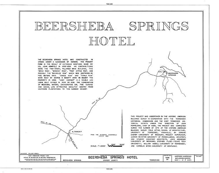 beersheba springs dating Military & hospitaller order of st lazarus in america / se commandery 192 likes  keeping faith with traditions dating back to  the beersheba springs medical .