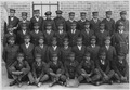 Older male students in uniform at the Albuquerque Indian School. - NARA - 292881.tif