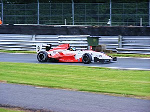 Oliver Webb - Webb competing during the 2008 Formula Renault UK season at Oulton Park.