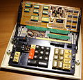 Olympia CD700 Desktop Calculator. 1971. Main Chassis and CPU Board.jpg