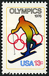Olympic Games Skiing 13c 1976 issue U.S. stamp.jpg