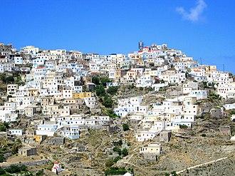 Olympos, Karpathos - Image: Olymposvillage