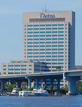 Aetna Building - Image: One Prudential Plaza Jacksonville 2010 07b