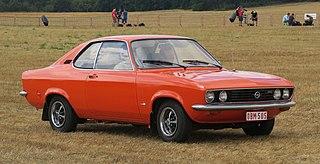 Opel Manta Motor vehicle
