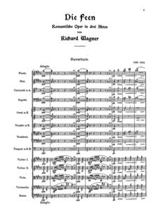 <i>Die Feen</i> opera by Richard Wagner