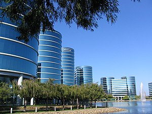 Oracle headquarters in Redwood Shores.