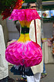 Origami flower during IMLD in Chittagong City Corporation Book Fair (02).jpg