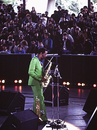 Ornette Coleman - Coleman performs in Toronto in 1982.